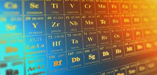 Resultado de imagen de origen de la tabla periodica