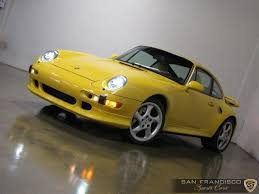 Its a 1996 porsche 993 turbo with under 50,000 miles. Used 1997 Porsche 993 Turbo S For Sale Special Pricing San Francisco Sports Cars Stock 234234577