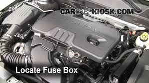 replace a fuse 2011 2017 buick regal 2011 buick regal cxl 2 4l 4 cyl 2014 Buick Regal Fuse Diagram replace a fuse 2011 2017 buick regal