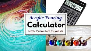 Acrylic Pouring Paint Calculator Online Tool Smart Art