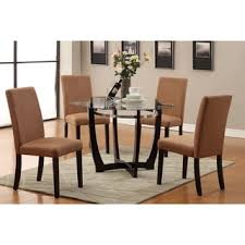 4 chair kitchen table: tyga saddle dining chairs set of