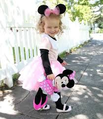how to make a minnie mouse costume on girllovesglam com