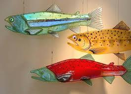glass fish ornaments custom fish tank