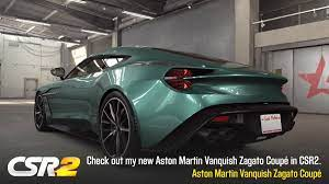 Aston Martin Vanquish Zagato Tune Shift Pattern Stage 5 Stage 6 Csr2boss