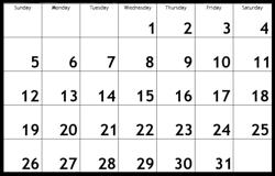 Basic Calendars Brain Game Calculating Calendars Mental Floss