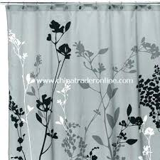 black white striped shower curtain black and gray shower curtain purple and gray shower curtain black