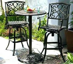 for tall outdoor table side sets bar height set teak furniture