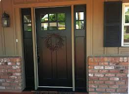home depot entry doors with sidelights craftsman