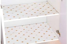 Pink polka dot wipe clean drawer liners. Amazon Com Glow4u Decorative Cute Polka Dots Non Adhesive Shelf Liner For Refrigerator Drawer Kitchen Cabinets Pantry Cupboard Closet 11 8x196 Inches