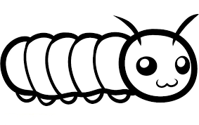 Small Picture Very Big Caterpillar Coloring Pages Kids Print Out Gekimoe 81601