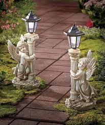 solar angel statue garden lanterns 19