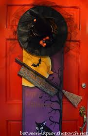 Front Door Decorated for Halloween 3a_wm