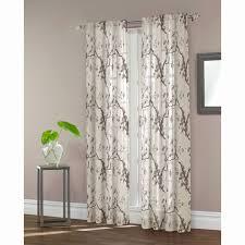maytex daphnia sheer window curtain white size 84 inch
