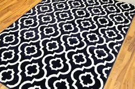 contemporary area rugs black 8x10 red and