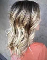 Dark Brown Hair With Silver Blonde