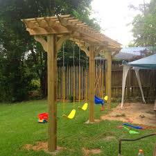 7 best dehors images on backyard patio garden deco and diy swing sets