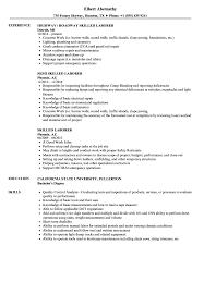 Skilled Laborer Resume Samples Velvet Jobs