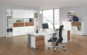 Large white office desk Executive Inspiring White Home Office Furniture With Wooden Floor And Large File Cabinet Spafurnishcom Furniture Inspiring White Home Office Furniture With Wooden Floor