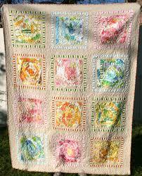 Vintage Bed Sheet Quilt &  Adamdwight.com