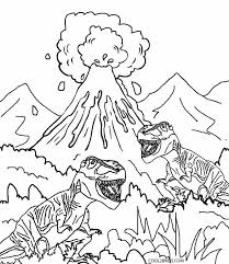 Small Picture Printable Volcano Coloring Pages For Kids Cool2bKids