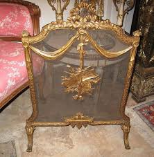 victorian fireplace screens antique french victorian cast brass fireplace screen by garygermer