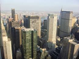chrysler building observation deck. top of the rock observation deck view metlife u0026 chrysler building from s