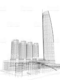 architecture blueprints skyscraper. Skyscraper Architecture Blueprint Royalty-free Stock Photo Blueprints O