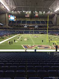 Alamodome Ncaa Basketball Seating Chart Alamodome Section 102 Utsa Football Rateyourseats Com