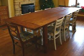 Build Dining Room Table Awesome Decorating