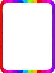 Rainbow Page Border Rainbow Page Border Free Downloads At Http Pageborders Clip Art