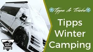 Wohnmobil Wintercamping Meine Besten Tipps