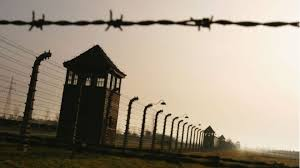 barbed wire fence holocaust.  Holocaust Image Of Auschwitz Watch Tower Barbed Wire And Fencing Throughout Barbed Wire Fence Holocaust