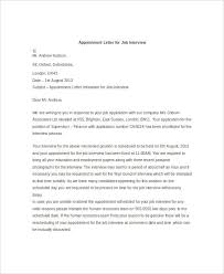 44+ Appointment Letter Template Examples | Free & Premium Templates