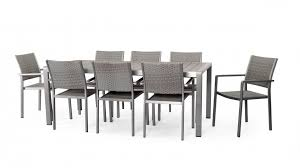 aluminium garden dining table. wonderful aluminium outdoor table anodised dining set lavita furniture garden