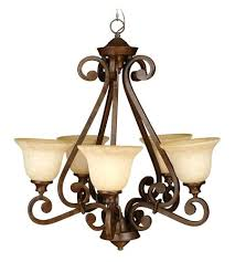 5 light chandelier bronze 5 light inch bronze chandelier ceiling light in antique glass hampton bay