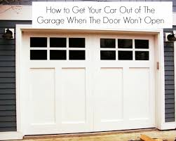 garage door won t openWhat To Do If Your Garage Door Is Stuck With Your Car Inside
