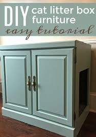 cat litter box furniture diy. Make Your Own Cat Litter Box Furniture With This Easy Tutorial. It\u0027s A DIY Furry Family Members Will Appreciate. Get Great Idea Of What To Feed Diy D