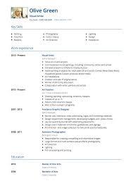 Art Resume Sample