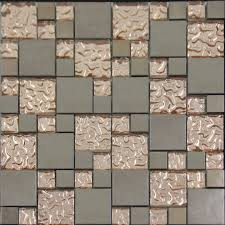 Enlarged Photos of the Porcelain Mosaic Tile