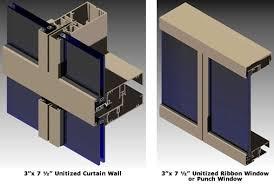 agc ucw unitized glazed wall systems