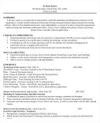 6 Legal Administrative Assistant Resume Templates Free Sample ...