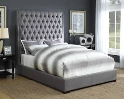 Coaster Camille Grey King Bed