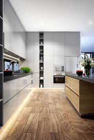 how to design house interior. kitchen design | led strip timber flooring grey interior home lighting how to house
