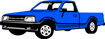 Truck Pickup | Free Stock Photo | Illustration of a blue pickup ...