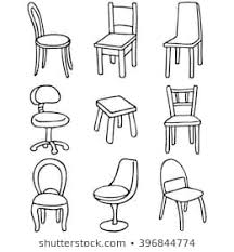 simple chair drawing. Simple Drawing Set Of Chairs Simple Line Drawings For Simple Chair Drawing