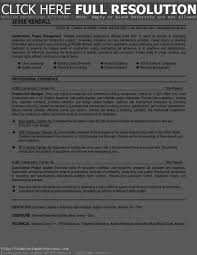 Construction Manager Resume Sample Gallery Creawizard Com