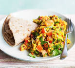 akoori   indian scrambled eggs
