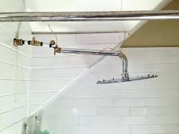 how to install rain shower head how to install a rain shower head in the ceiling