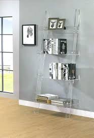 floating bar shelves clear acrylic bookshelves collection pertaining to prepare diy