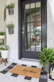 bold front door planter ideas